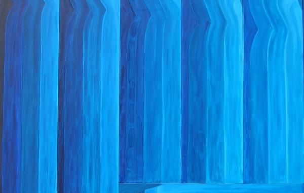 Monocromia in blu